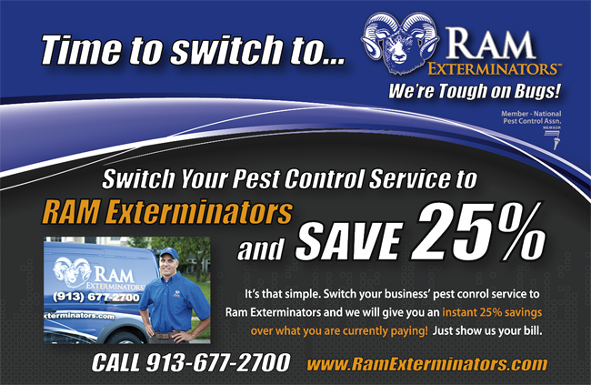 Switch to Ram Exterminators